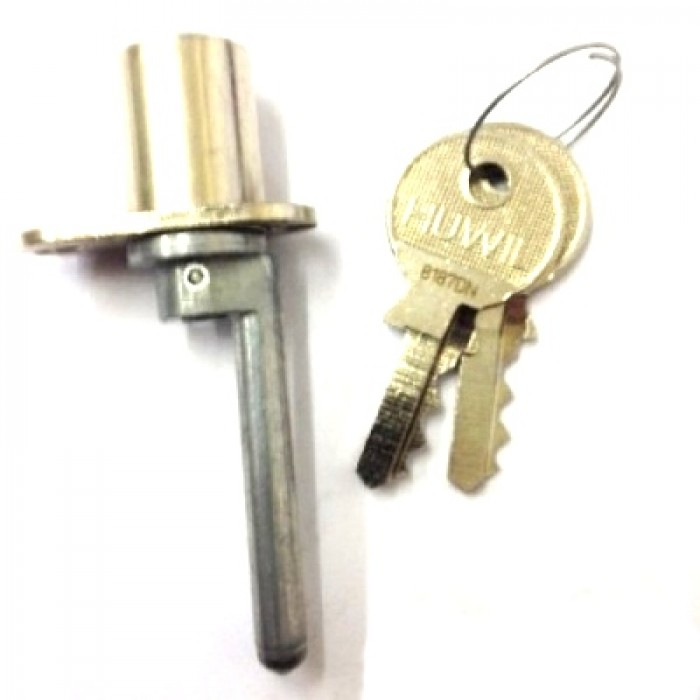 Huwil Single Wing Desk Lock Vertical 50mm Arm