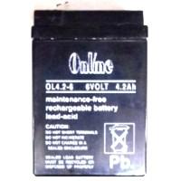 Online OL4.6V 4.2Ah Sealed Lead Acid Battery Online