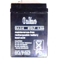 Online OL4.6V 4.2Ah Sealed Lead Acid Battery Online