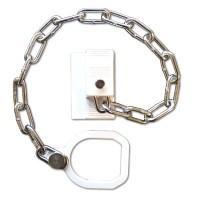 Asec UPVC Door Chain Restrictor With Ring