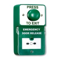 RGL Dual Unit Combined Exit Button and Call Point