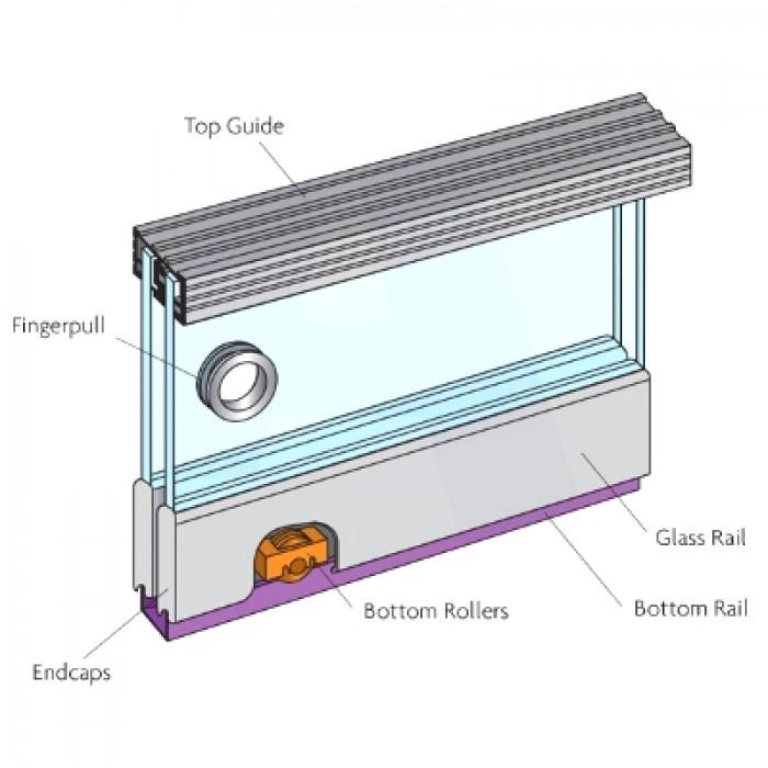 Henderson Zenith Sliding Glass Door Gears