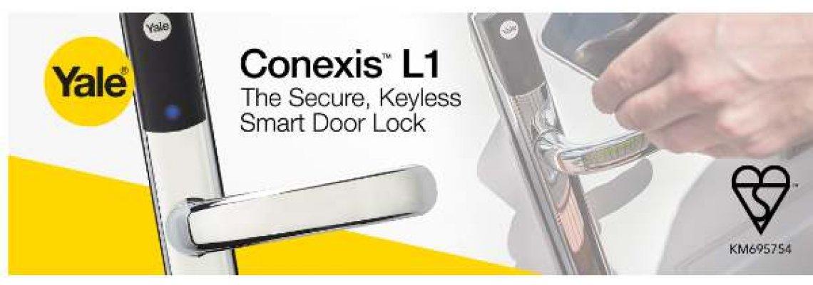 Yale Conexis L1 British Standard Smart Door Lock