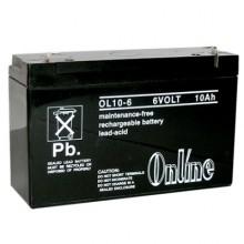 Online OL1 6V 10Ah Sealed Lead Acid Battery Online