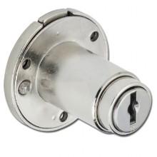 Ronis 18710 Round Furniture Push Lock