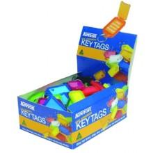 Kevron ID5AC 100 Click Key Tag Pack