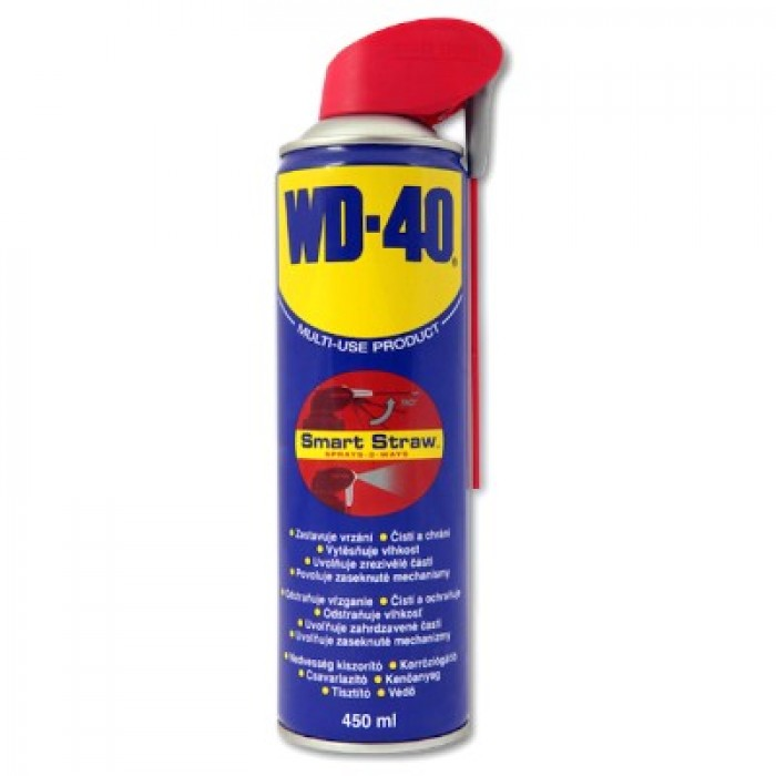 wd 40 lubricant spray with smart straw 450ml. Black Bedroom Furniture Sets. Home Design Ideas
