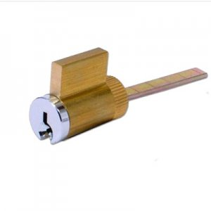Replacement cylinder for patio door locks
