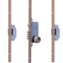 Ucem Centre latch with 3 Triple Pin Deadbolts
