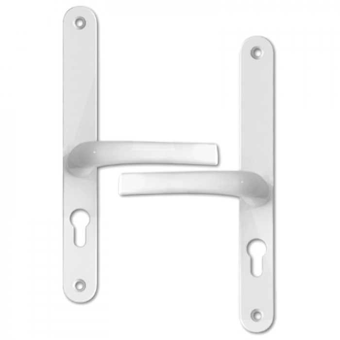48mm Lever Lever Upvc Furniture 270mm Backplate