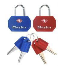 Master Lock 4681 TSA Padlocks Pairs