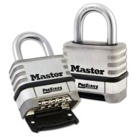 Master Lock 1174D Open Shackle Combination Padlock