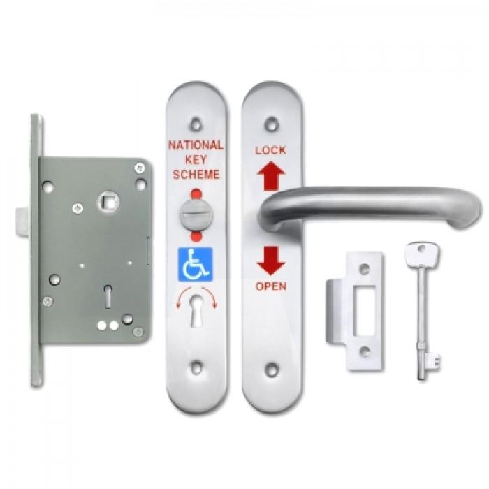Universal Radar Toilet Door Lock