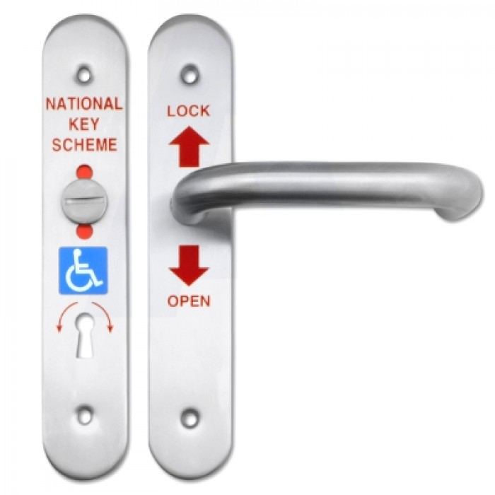 Universal Radar Toilet Door Lock