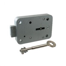 STUV Double Bitted Safe Lock