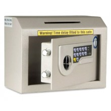 Counter Safe with electronic locking and time delay