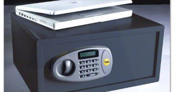 Yale Y-LTS Laptop Digital//Electronic Keypad Safe 350mm x 200mm x 430mm