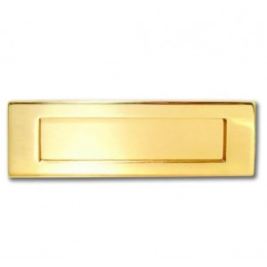Letter Plates for Wooden Doors