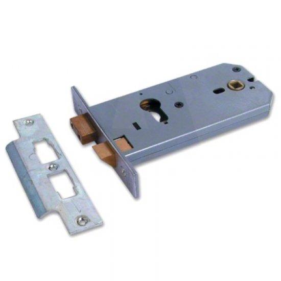 Union L2049 Euro Profile Horizontal Mortice Lock