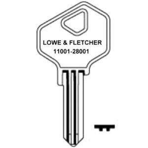 Lowe and Fletcher LF24 Cabinet Keys