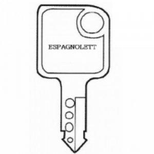 Espagnolette Keys