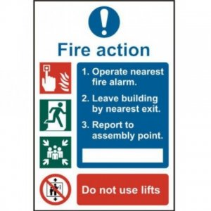 Fire Action and First Aid