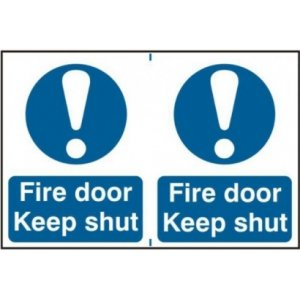 Fire Door and Access Signs