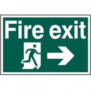Fire Exit and Directions