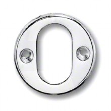 45mm Front Fix Oval Cylinder Escutcheon