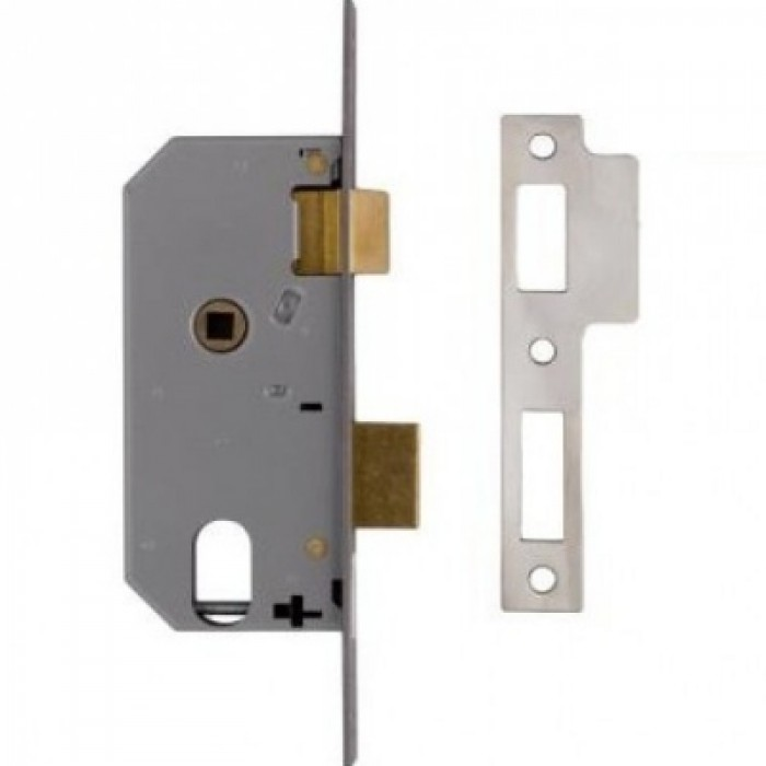 Oval Profile Double Throw Mortice Sash Lock