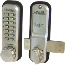 Lockey 2200 Surface Mount Digital Lock With Rim Dead Bolt