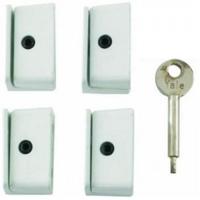 Chubb Yale 8k109m Multi Pack Wooden Casement Window Lock