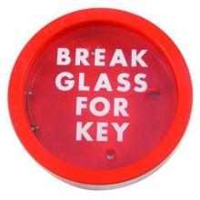 Emergency Key Box Red Round