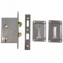 Four Lever Hook Bolt Sliding Door Lock 3500