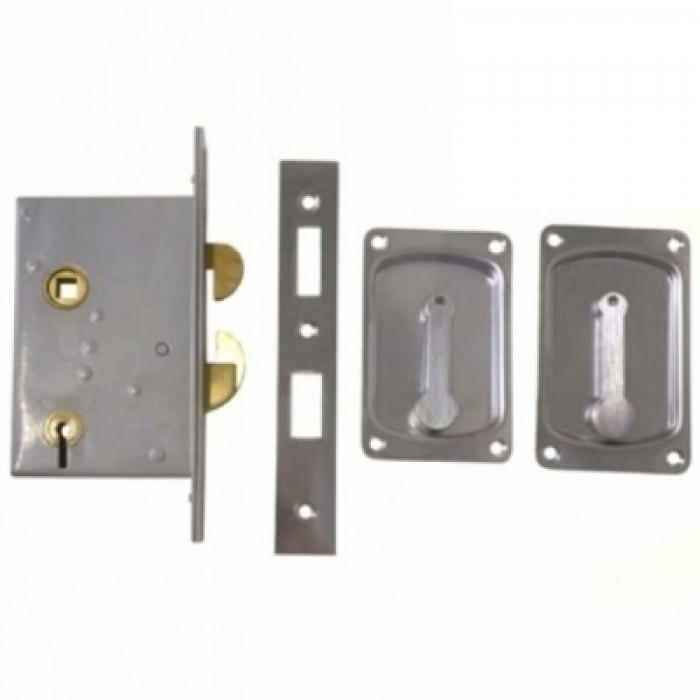 Four Lever Hook Bolt Sliding Door Lock 3500