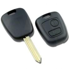 2 Button Remote Case To Suit Citroen & Peugeot