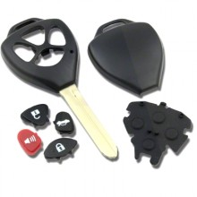 4 Button With Panic Remote Case To Suit Toyota