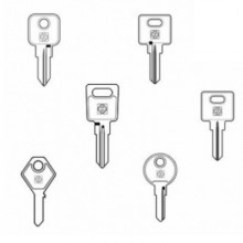 Cabinet Keys To Pattern or Cut To Number