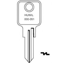 Huwil 0001 to 051 Cabinet Keys