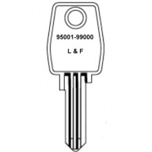 Lowe & Fletcher 95001 to 99000 Cabinet Keys