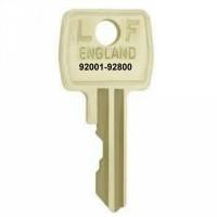 Lowe & Fletcher 92001 to 92800 Cabinet Keys