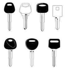 Hyundai Classic Car Keys