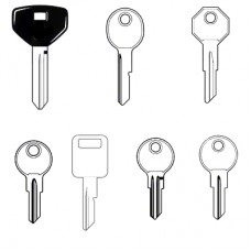 Jeep Classic Car Keys