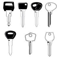 Mazda Classic Car Keys