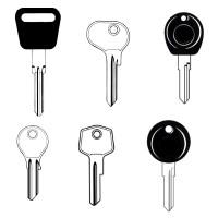 Porsche Classic Car Keys
