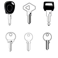 Renault Classic Car Keys