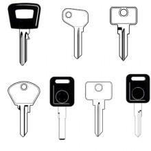 Seat Classic Car Keys