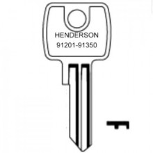 Henderson 91201 to 91350 Garage Keys