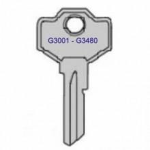 Haskins G3001 to G3480 Garage Door Keys