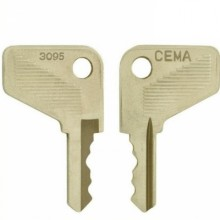 Cema 3095 Replacement Switch Key